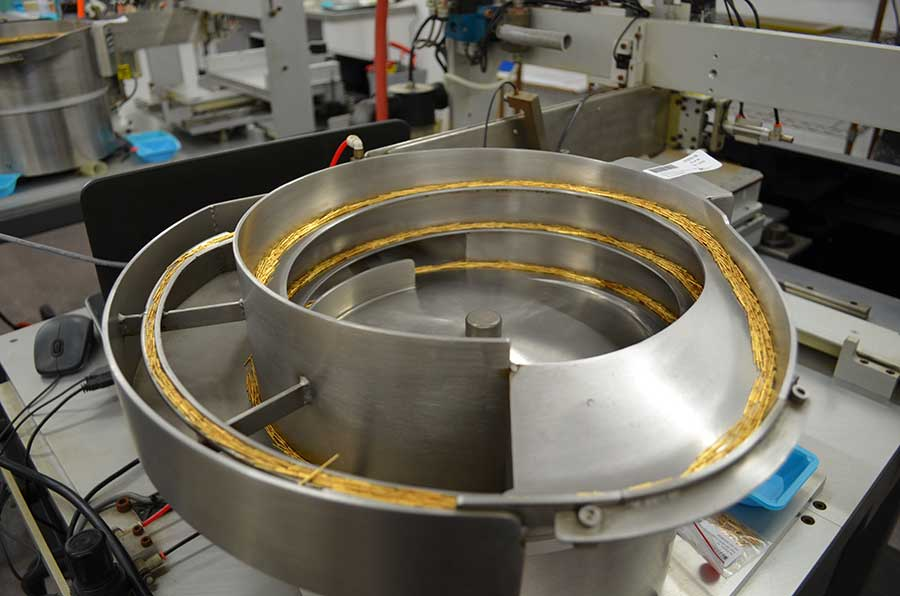 Selective Plating Bowl Feeder